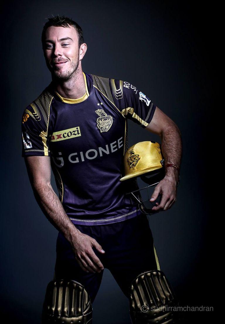Cricketer Chris Lynn by advertising photographer Sudhir Ramchandran