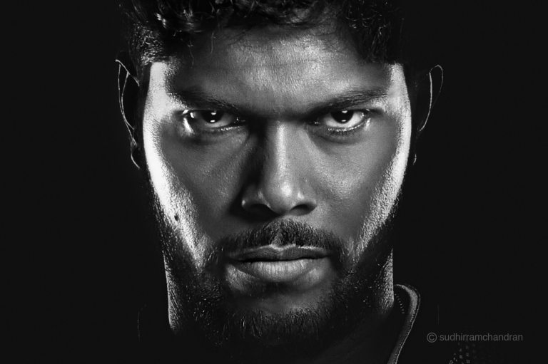 Cricketer Umesh Yadav for KKR by photographer Sudhir Ramchandran